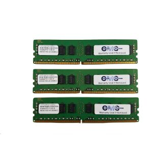 96Gb (6X16Gb) Memory Ram Compatible Dell Poweredge R730 Ddr4 Ecc Reg For Server Only By CMS B102