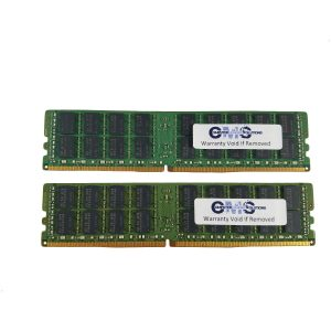 64Gb (2X32Gb) Memory Ram Compatible with Hp/Compaq Workstation Z640 ECC Load Reduced DDR4 for Servers Only by CMS D17