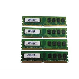 16Gb (4X4Gb) Ram Memory Compatible With Dell Poweredge 6800 Pc3200 Ecc Reg By CMS B48