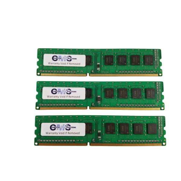 12Gb (3X4Gb) Ram Memory For Hp Workstation Z200 Ecc Unbuff For Server Only By CMS